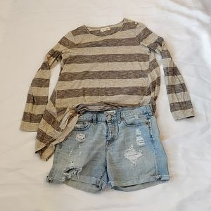 Madewell Denim Shorts and Top